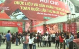 Hội chợ dược liệu Việt Nam lần thứ nhất năm 2019