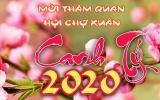 Thư mời tham quan Hội chợ Xuân 2020