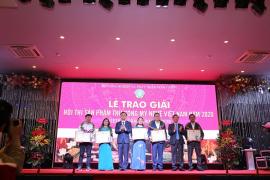 Trao giải Hội thi sản phẩm thủ công mỹ nghệ Việt Nam năm 2020