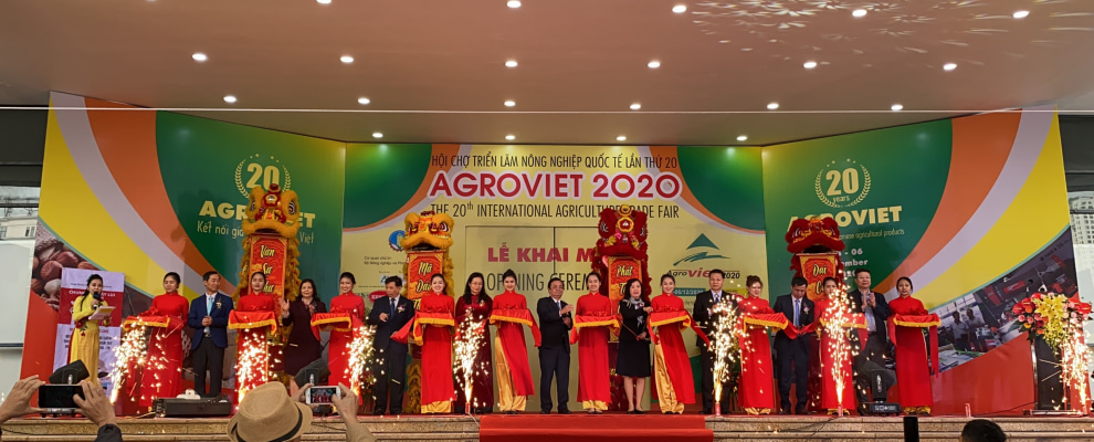 Khai mạc Hội chợ Triển lãm Nông nghiệp Quốc tế AgroViet 2020